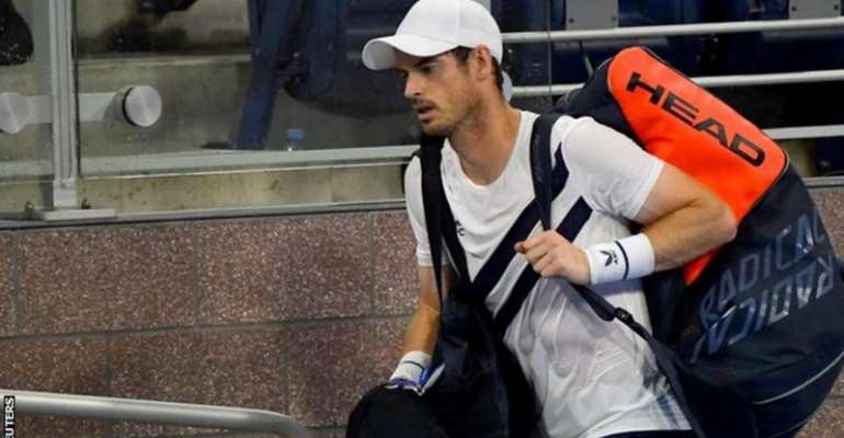 Andy Murray, now ranked 134th, was comprehensively beaten by Canada's Milos Raonic at the Western and Southern Open
