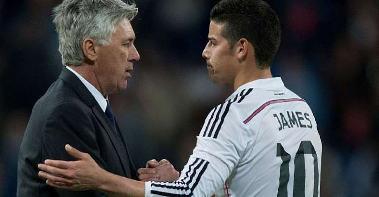 Everton Open Talks With Real Madrid Over James Rodriguez