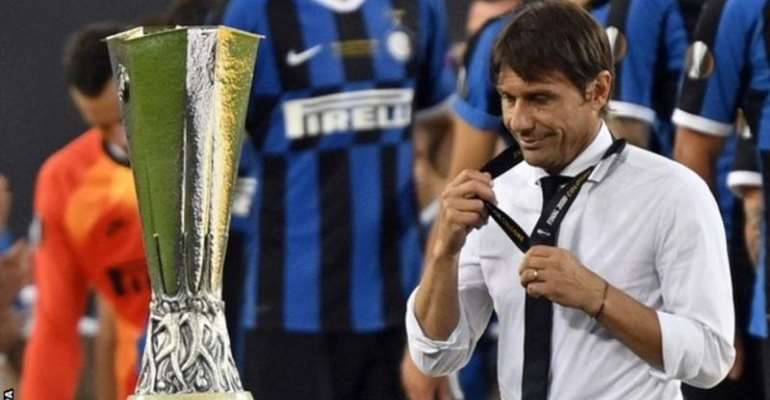 Inter missed out on their first trophy in nine years as they lost the Europa League final and were runners-up in Serie A