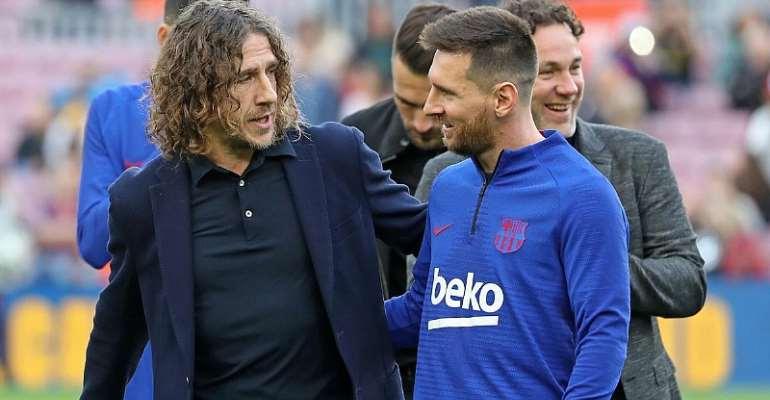 Carles Puyol Backs Lionel Messi As He Demands Barcelona Exit - And Luis Suarez Responds