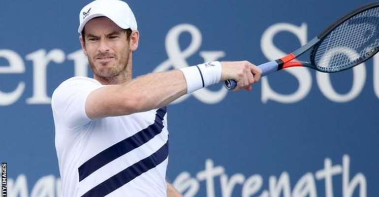 Former world number one Andy Murray is ranked 134th after his injury problems