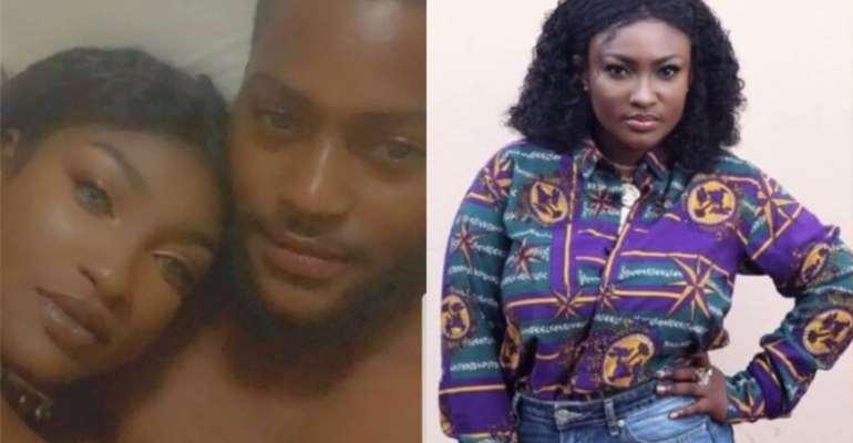 WATCH: Abena Moet, husband captured in hot romance