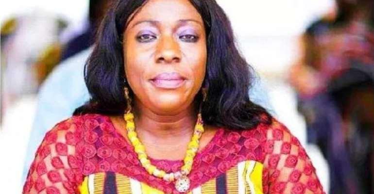 Ex-MP for Evalue Ajomoro Gwira Constituency Madam Catherine Afeku