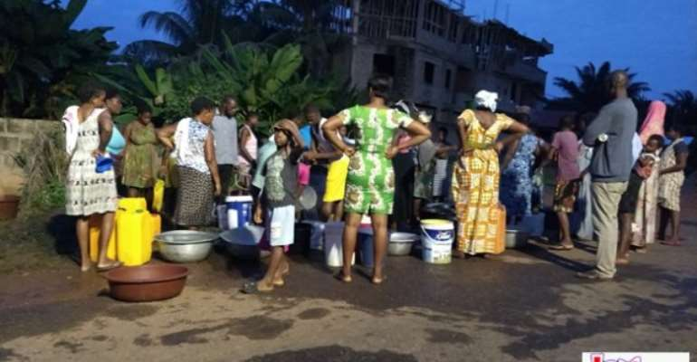 Water Scarcity Hits Ho