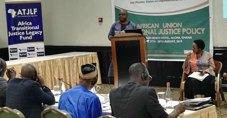 Accra: Maiden Regional Workshop On AU Transitional Justice Policy Opens