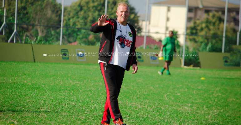 Kotoko Coach Kjetil Zachariassen Delighted With Ashgold's Progress In CAF Confederations Cup