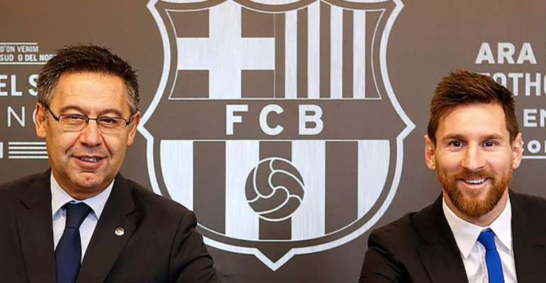 Bartomeu Pledges To Step Down If Messi Agrees To Stay At Barcelona