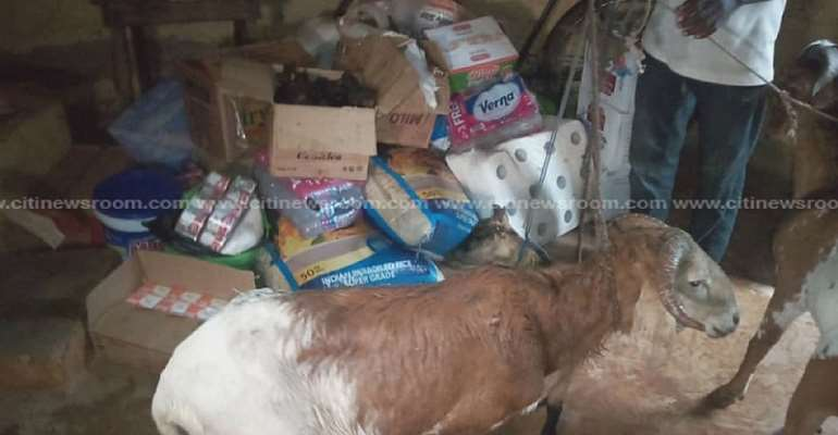 Tamale: Children's Home Supervisor Grabbed For Allegedly 'Stealing' Donated Items