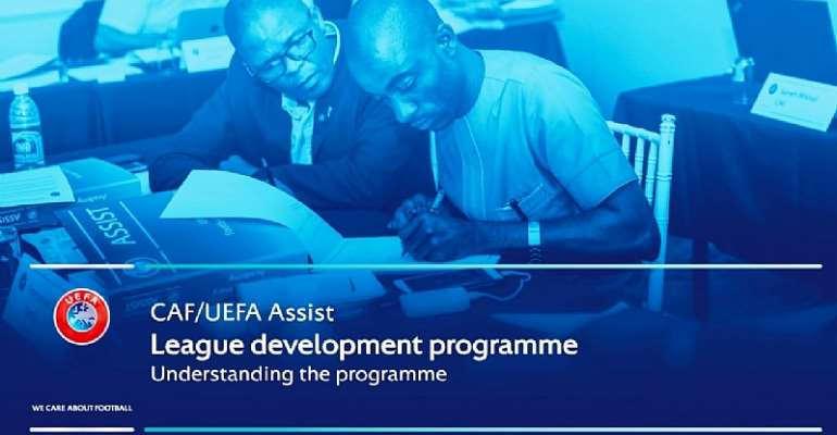 Ghana Picked For CAF & UEFA Assist League Development Program