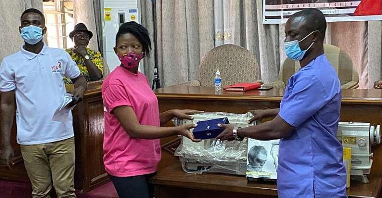 YEA Supports Artisans In Ashanti Region
