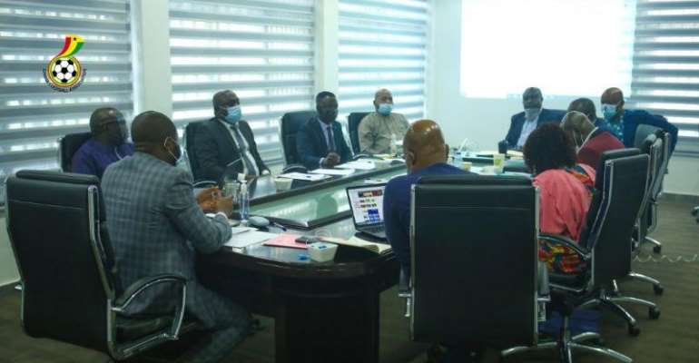Members of the Executive Council of the Ghana Football Association
