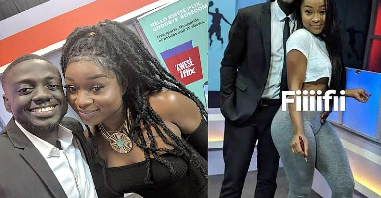 I Did Not Date Efia Odo – Sports Journalist Clarifies