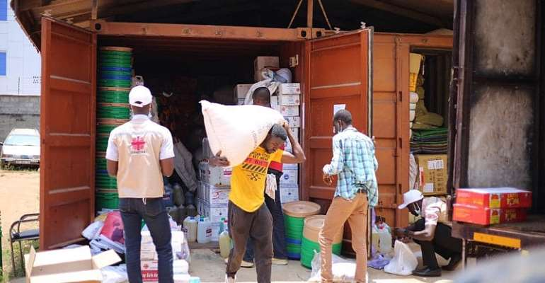 Caritas Ghana Dispatches Vatican Grant Goods To 800 Indigent Poor Impacted By COVID-19