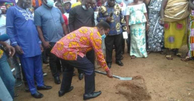 Construction Of Kwanyako Market Begins