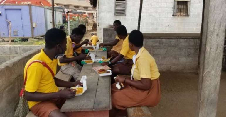 Don't Do Politics With Hot Meals Being Served JHS Students---Gender Minister