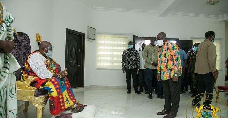 """""""There's No Political, Ethnic Agenda Against Volta"""" – Akufo-Addo"""