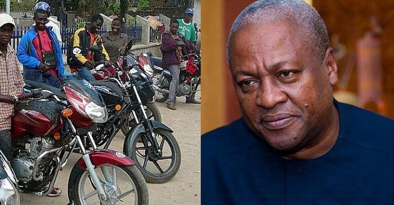 Is The NDC John Mahama's Okada Legalisation Proposal Justified?