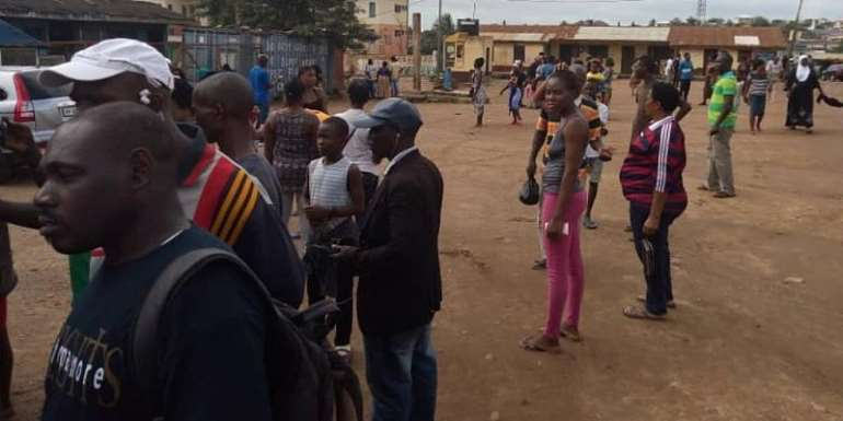 Tension Brews At Budumburam Over Killing Of Alleged Police Informant