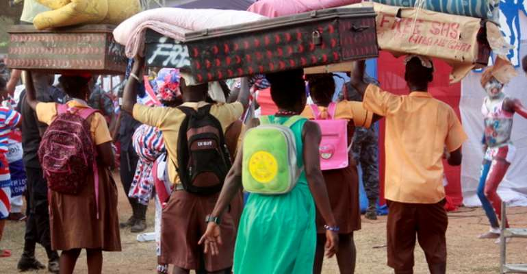 Food shortage hits Free SHS as students asked to go home early to avoid shame