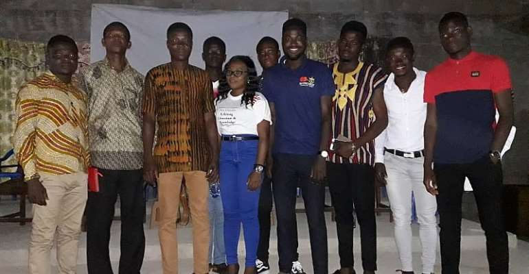 Mastercard foundation scholars program at Knust dubbed Youth Talk 2019 at Western North was successful