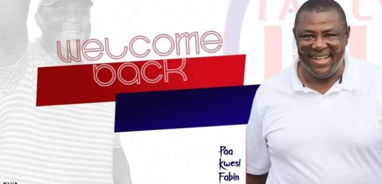 Paa Kwesi Fabin Rejoins Inter Allies As Head Coach