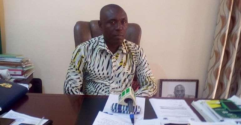 Gomoa Central District Chief Executive, Hon. Benjamin Kojo Otoo
