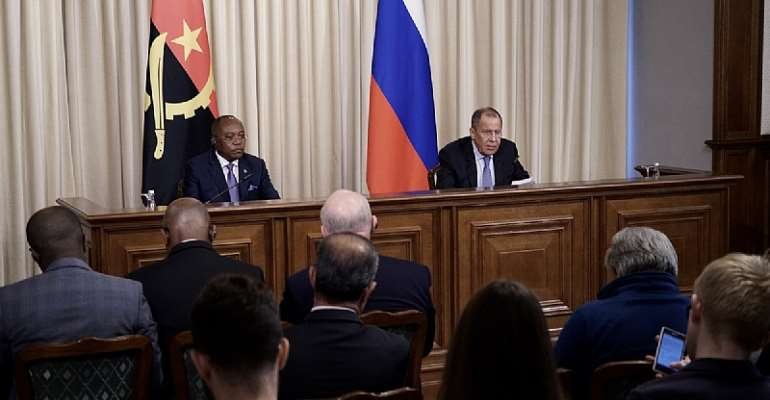 Russia Expresses Satisfaction Cooperating With Angola