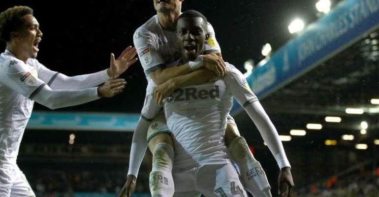 Eddie Nketiah Scores As Stoke City Crash Out Leeds United In Carabao Cup