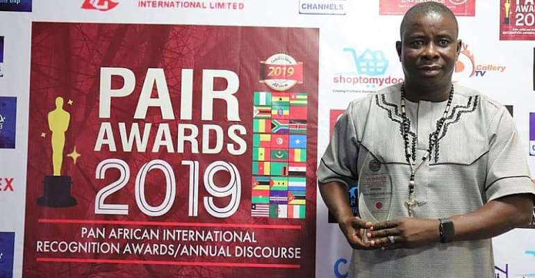 Koans wins best Real Estate in Africa at PAIR Awards