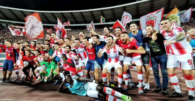 Richmond Boakye Helps Red Star Belgrade Secure Uefa Champions League Qualification