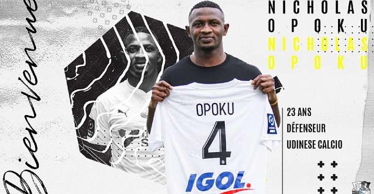 Amiens SC Sign Ghanaian Defender Nicholas Opoku On Loan