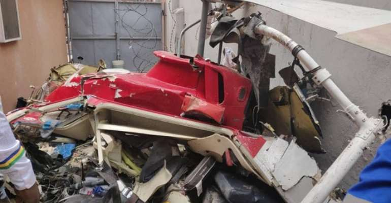 2 Killed In Lagos Helicopter Crash