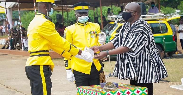 CAP 30 For All Security Services — Bawumia