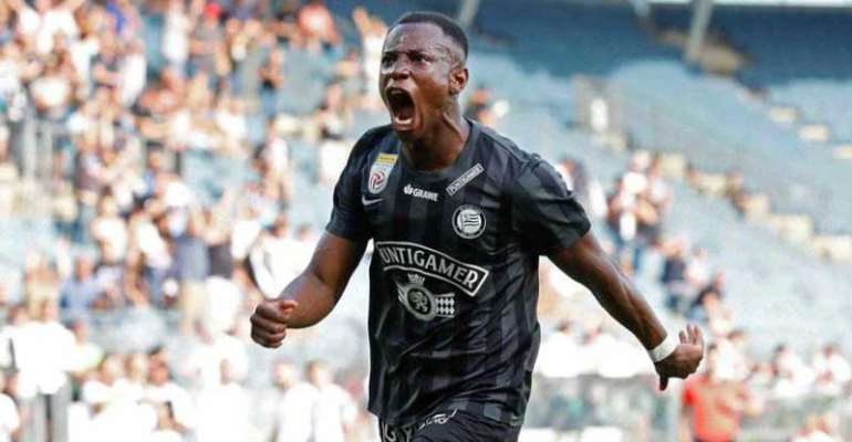 Promising forward Kelvin Yeboah rejects Black Stars call up for Italy U-21