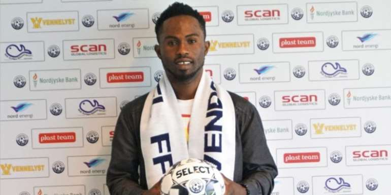Sarfo Taylor Nets On His Debut For Vendsyssel FF