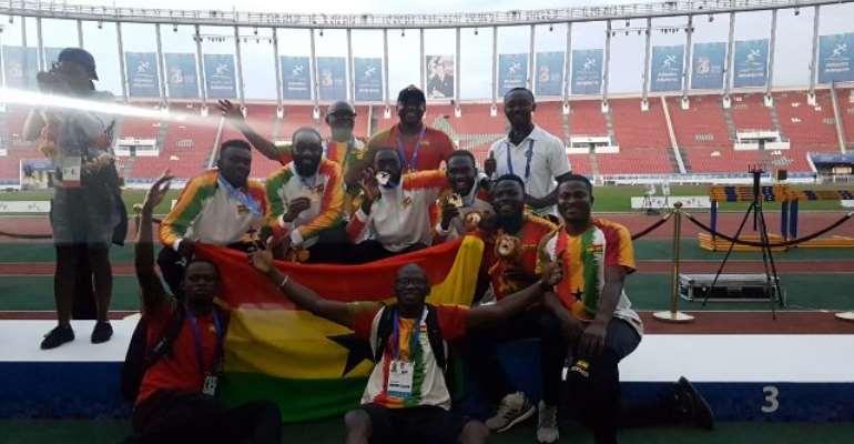 African Games: Ghana Win Gold In Men's 4x100m Relay