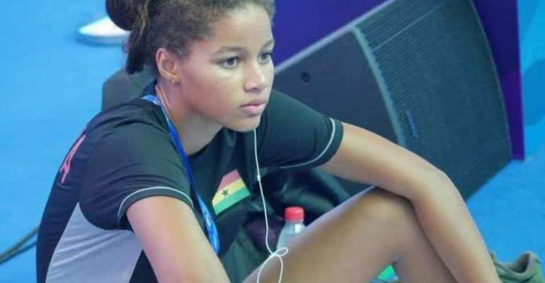 Kaya Forson Placed 2nd For Ghana At FINA World Junior Swimming Championships