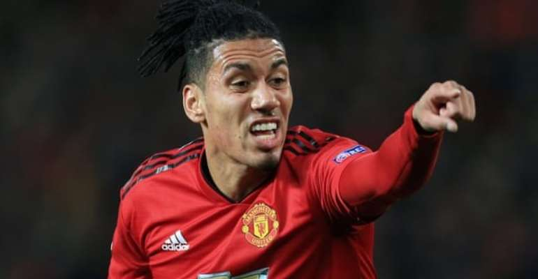Chris Smalling To Join Roma On Loan From Man United