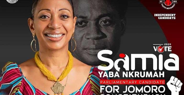 Samia Nkrumah Goes Independent In Jomoro