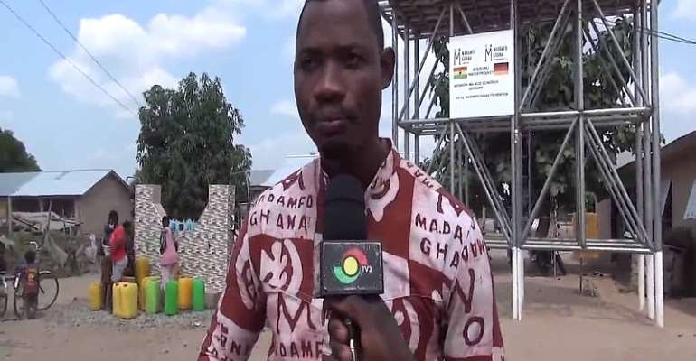 Madamfo Ghana Foundation provides water for Atebubu residents