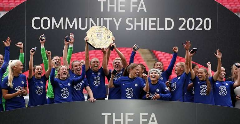 Chelsea Beat Manchester City To Win Women's Community Shield