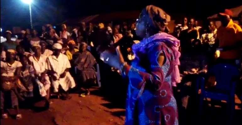 Hajia Zuwera Visit Kalande As Part Of Her Community Engagements