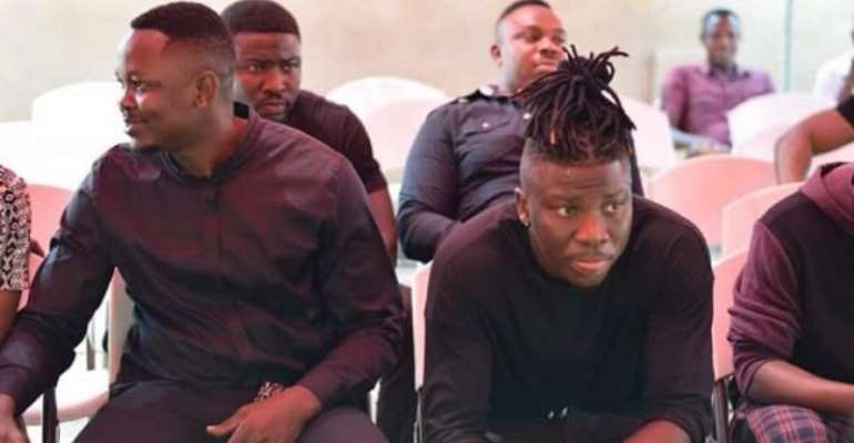 Stonebwoy Confirms Feud With Manager