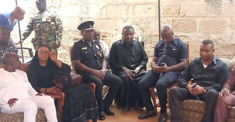 [Photos] Lance Corporal Awal Burial Underway In Kumasi