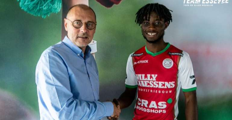 Gideon Mensah Excited With Zulte Waregem Loan Move