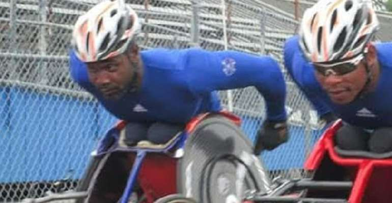 Ghana's Dzidzienyo Targets Gold At OCC Wheelchair Challenge In South Africa