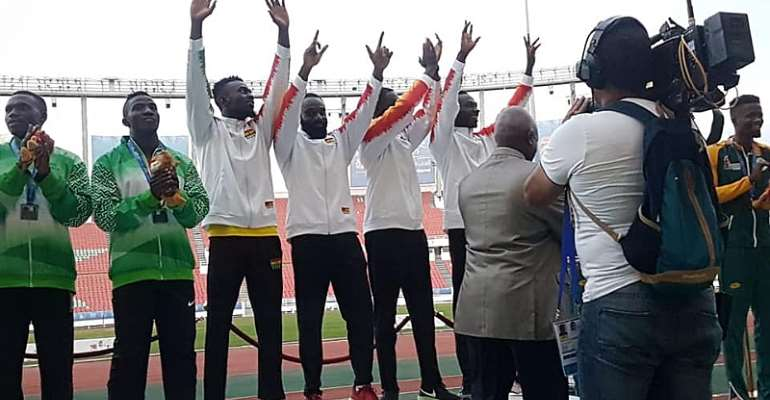 How Ghana's 4x100m Men's Relay Team Won The Race [VIDEO]