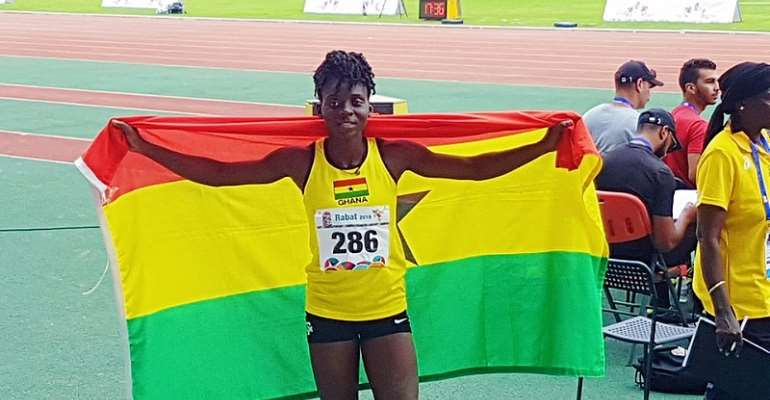 2019 All African Games: Deboral Acquah Wins Silver In Long Jump
