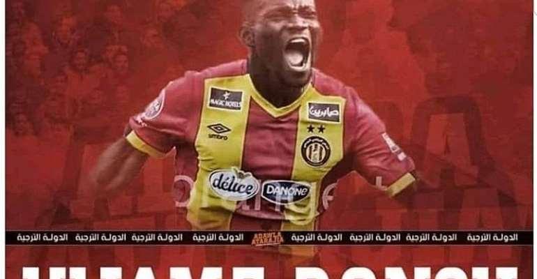 Kwame Bonsu's Espérance Win Tunisia League Title