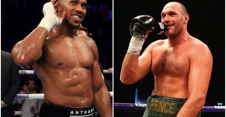 I Will Stop Anthony Joshua In First Round - Tyson Fury